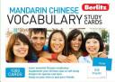 Berlitz Mandarin Chinese Vocabulary Study Cards