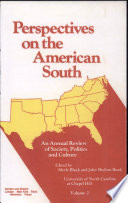 Perspectives On The American South book