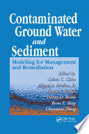 Contaminated Ground Water And Sediment book