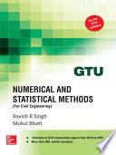 Numerical and Statistical Methods for CIVIL ENGINEERING  GTU 2016