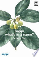 Sappi What s in a Name