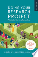 Ebook Doing Your Research Project A Guide For First Time Researchers