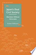 Japan s Dual Civil Society
