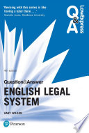 Law Express Question and Answer  English Legal System