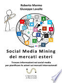 Social Media Mining dei mercati esteri