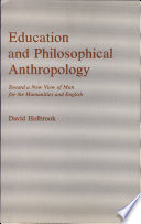 Education and Philosophical Anthropology
