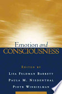 Emotion And Consciousness : in emotion, this integrative volume...
