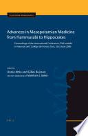Advances In Mesopotamian Medicine From Hammurabi To Hippocrates