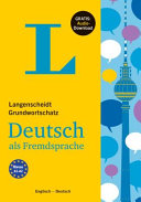 Langenscheidt Grundwortschatz Deutsch - Basic Vocabulary German