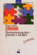 Rechtschreibung   ben   Deutsch 3  Schuljahr