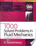 1000 Solved Problems in Fluid Mechanics  includes Hydraulic Machines