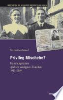 Privileg Mischehe