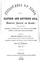 download ebook cyclopaedia of india and of eastern and southern asia, commercial, industrial and scientific pdf epub