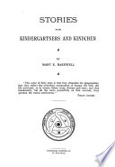 Stories for Kindergartners and Kindchen