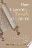 How I Love Your Torah O Lord