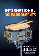 Alfred s Music Playing Cards    International Drum Rudiments
