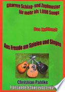 Gitarren Schlag- und Zupfmuster für mehr als 1.000 Songs