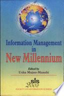 Information Management In The New Millennium book