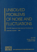 Unsolved Problems of Noise and Fluctuations Pdf/ePub eBook