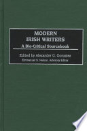 Modern Irish Writers Than 70 Modern Irish Writers