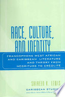 Race  Culture  and Identity