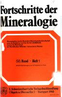 Fortschritte der Mineralogie