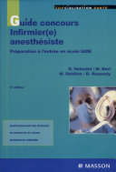 Guide concours infirmier e  anesth  siste