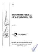 Human Factors Design Standards for the Fleet Ballistic Missile Weaponssystem Book PDF