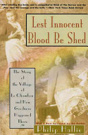 Lest Innocent Blood Be Shed When Inhumanity And Political Insanity