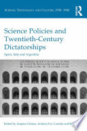 Science Policies and Twentieth Century Dictatorships