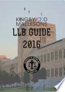 LLB Guide 2016  Law Society Inc  2016