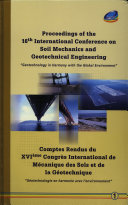 Proceedings of the 16th International Conference on Soil Mechanics and Geotechnical Engineering