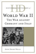 Historical Dictionary of World War II
