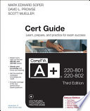 CompTIA A  220 801 and 220 802 Cert Guide  Deluxe Edition