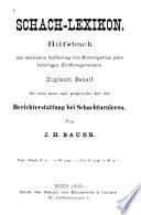 Schach-lexikon