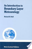 Review An Introduction to Boundary Layer Meteorology