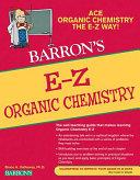 Barron s E Z Organic Chemistry