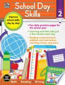 School Day Skills, Grade 2 PDF