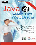 Absolute Beginner Java 4 Selenium Webdriver