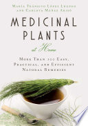 Book Medicinal Plants at Home