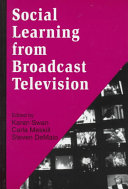Social Learning from Broadcast Television