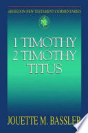 Abingdon New Testament Commentaries  1   2 Timothy and Titus