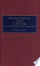 Historical Dictionary of the 1950s