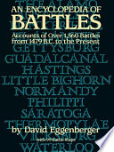 An Encyclopedia of Battles