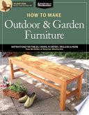 How to Make Outdoor & Garden Furniture