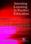 Assessing Learning in Further Education