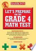 Let s Prepare for the Grade 4 Mathematics Test