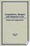 Acquisitions, Budgets, and Material Costs And Rapidly Expanding Information Formats Library Professionals Will