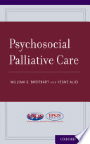 Psychosocial Palliative Care book