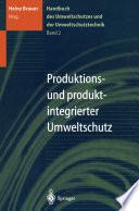 Handbuch des Umweltschutzes und der Umweltschutztechnik
